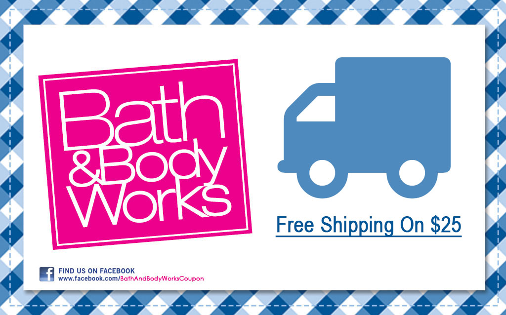 bath and body works free shipping coupons