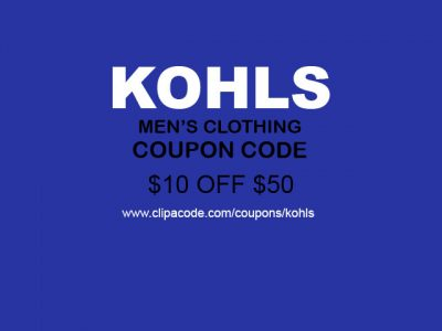 kohls coupons $10 Off
