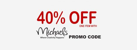 Michaels 40% Off Coupon