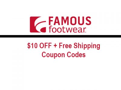 image regarding Famous Footwear Printable Coupon referred to as Popular Sneakers $10 Off $50 Coupon Code - Well known Shoes