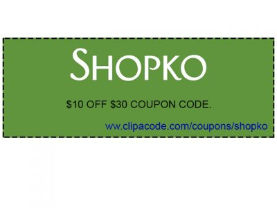 shopko printable coupons $10 off $30