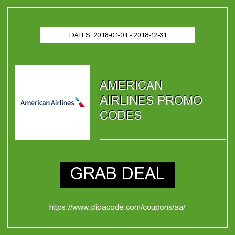 Aa Com American Airlines Promo Code Coupon Deals