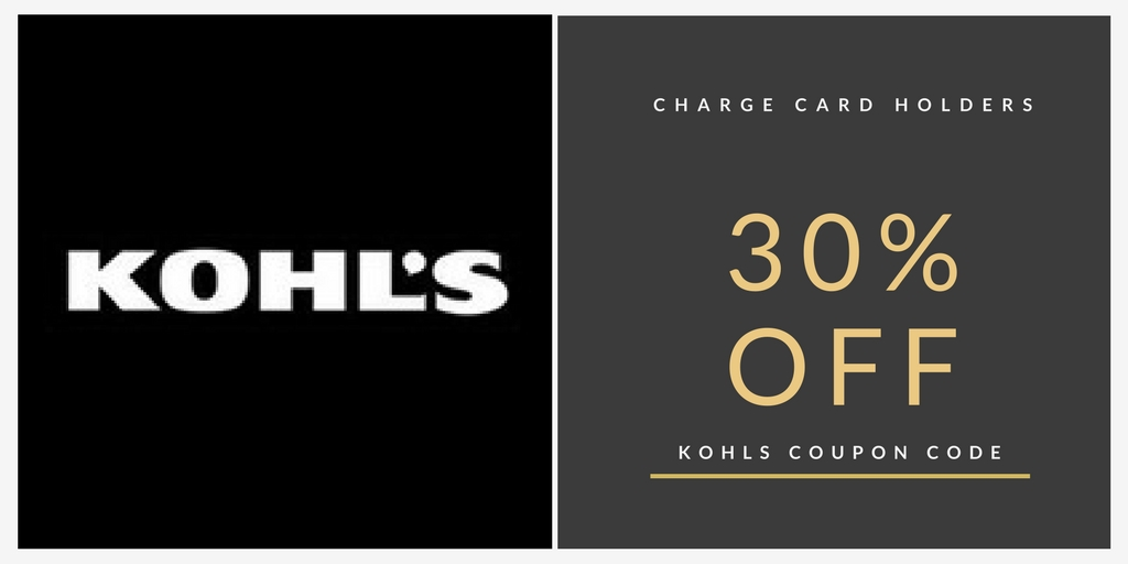 Via Kohls coupons, promo codes up to 30% off, printable coupons and buy clothing, footwear get ample savings. Kohl's is a America's largest department store roots began in the year based at Menomonee Falls, Wisconsin.