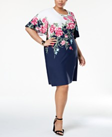 50% off Casual Plus Size Dresses by Karen Scott and Charter Club