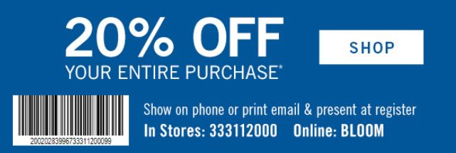 bath and body works in store printable coupons