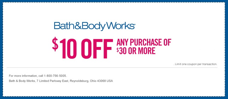 bed body works printable coupons
