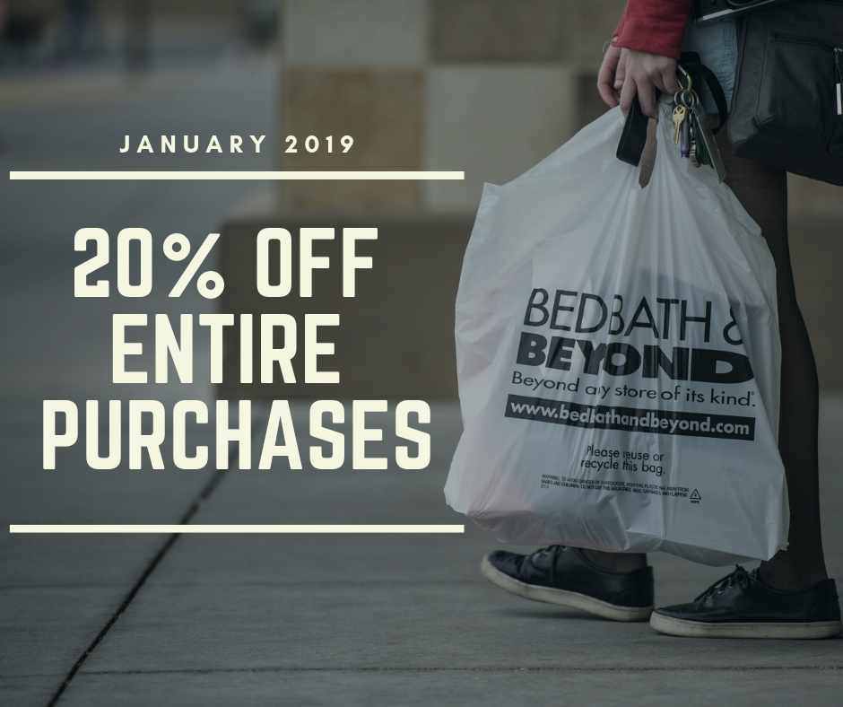 Bed Bath And Beyond 20 Off Entire Purchase Coupon Code