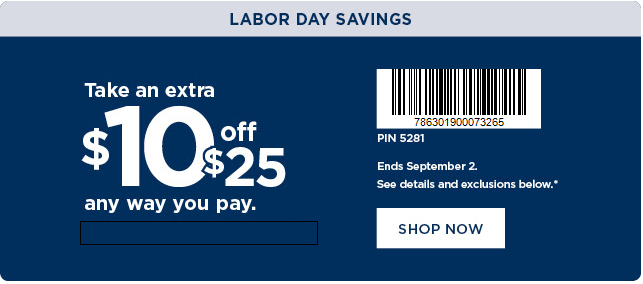 image relating to Yankee Candle $10 Off $25 Printable Coupon called Kohls $10 Off Discounted Code + No cost Transport With Least Pay back