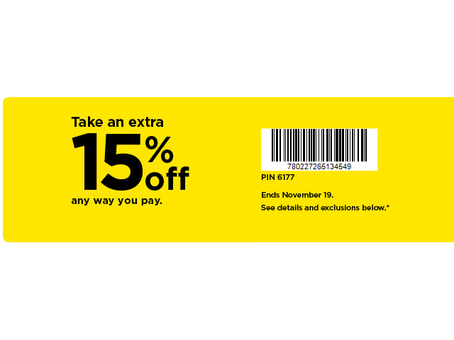 Kohls Early Black Friday 2020 Extra 15 Off Coupon